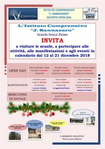 locandina open day dicembre 201811