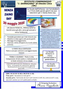 senza zaino day 2020
